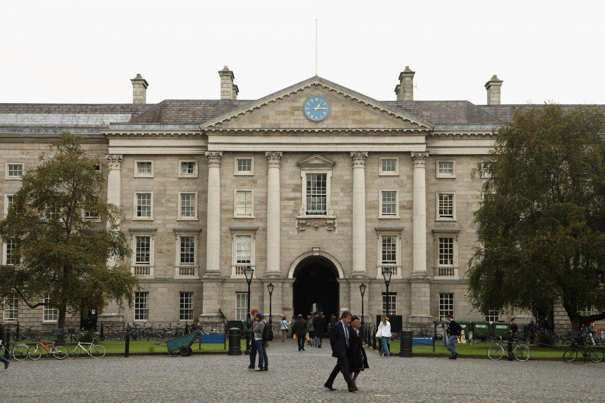 Тринити-колледж в Дублине — один из старейших университетов англоговорящего мира.