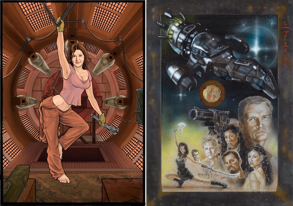 Специально для фанатов издательством Dark Horse Comics было выпущено три серии комиксов, дополняющих
