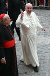 Pope Francis at Havana Cathedral in Cuba.