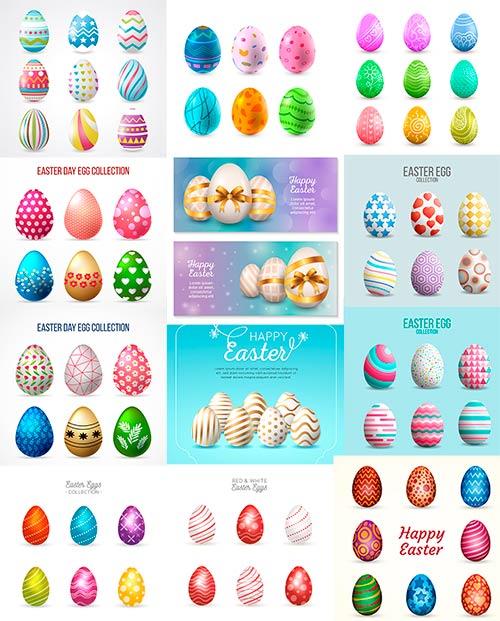 Пасхальные яйца - Вектор / Easter Eggs - Vector