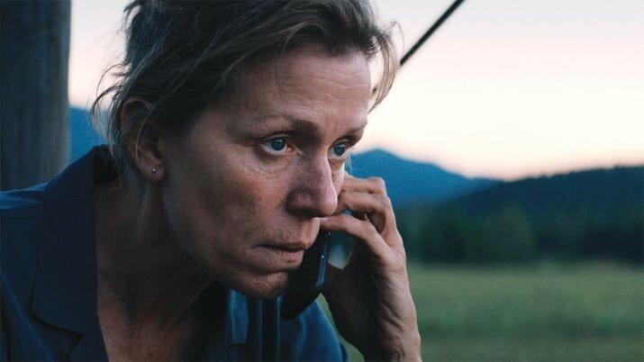 Лучшая актриса — Фрэнсис Макдорманд («Три билборда на границе Эббинга, Миссури»).