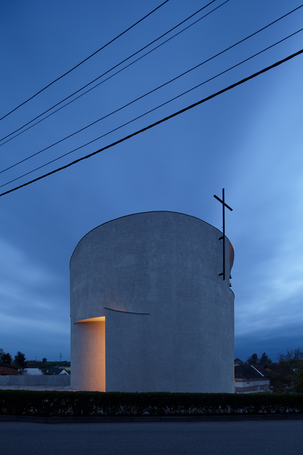 Church of St. Wenceslas in Czech Republic by Atelier Stepan