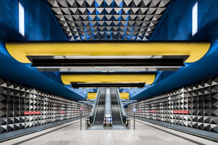 Wonderful Exploration of German Metro Stations (6 pics)