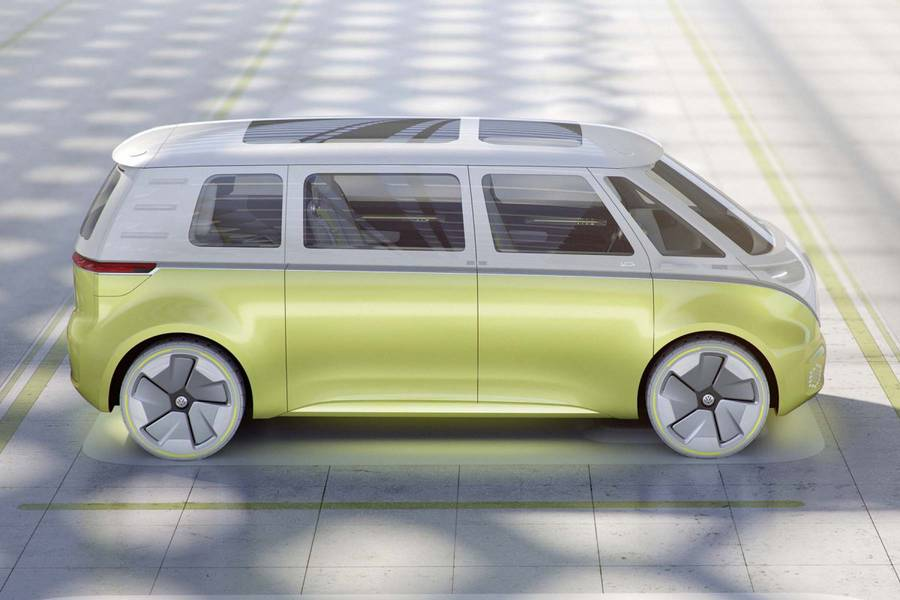 Volkswagen Seldriving Electric Campervan Concept