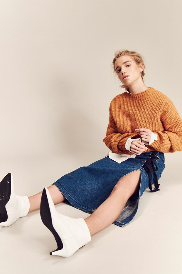 Jumper: Gestuz Shirt: Selected Shoes: Gestuz