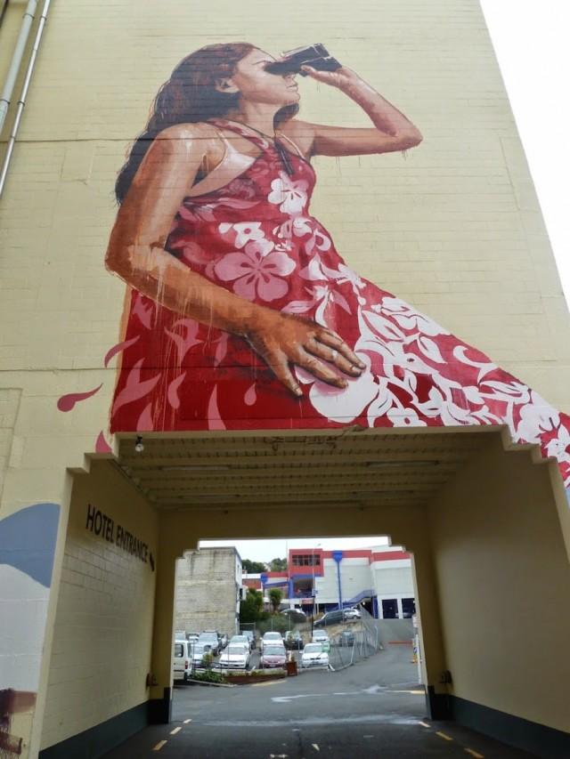 Mural Street Art in New Zealand