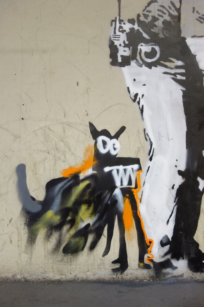 Streets: Banksy – Basquiat Tribute Pieces (London) (8 pics)