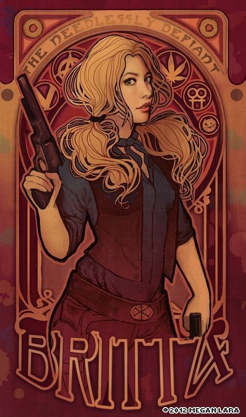 Beautiful Art Nouveau Style Illustrations – Megan Lara (11 pics)