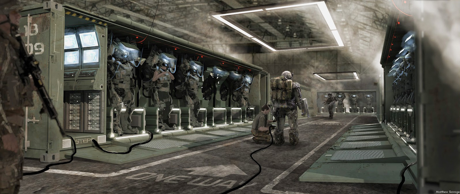 Edge of Tomorrow Concept Art by Matthew Savage (18 pics)