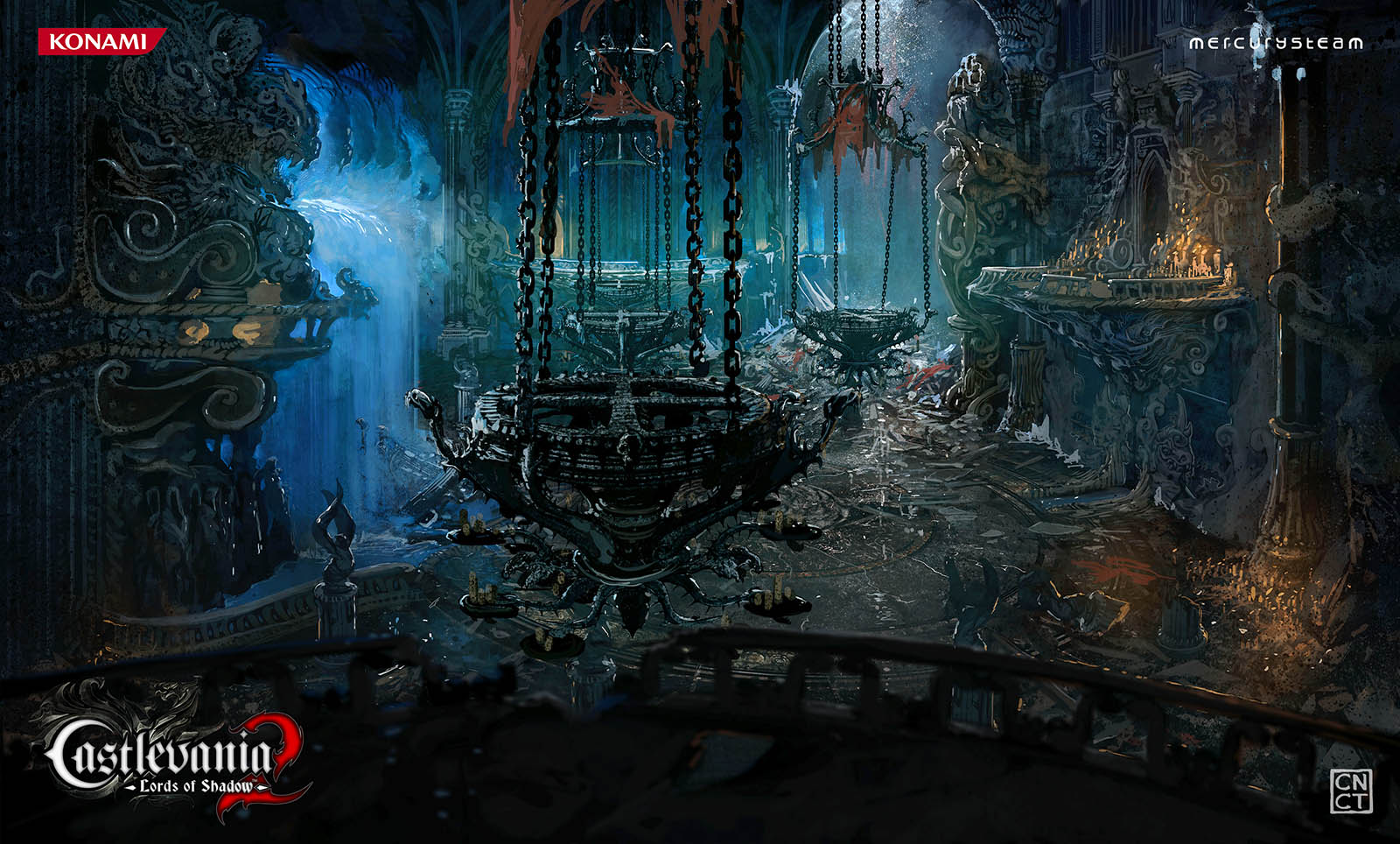 Castlevania: Lords of Shadow 2 Concept Art by Carlos NCT