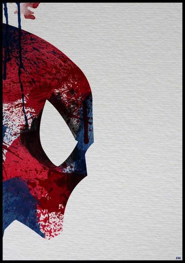 Splattered Superheroes - Arian Noveir