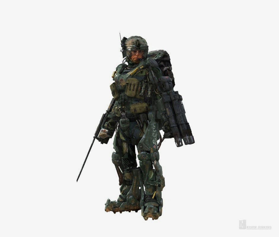 Edge of Tomorrow Concept Art by Kev Jenkins