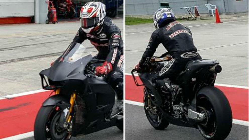 Частные тесты в Сепанге. Новый обтекатель Honda RC213V