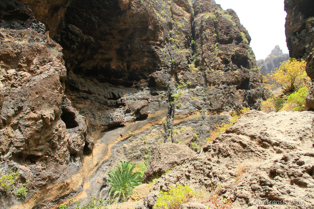 Остров Тенерифе, ущелье Маска
