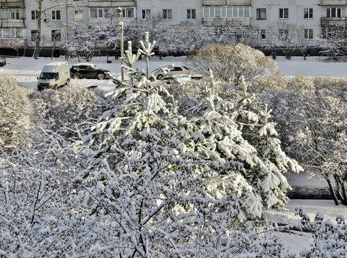 За окном зима