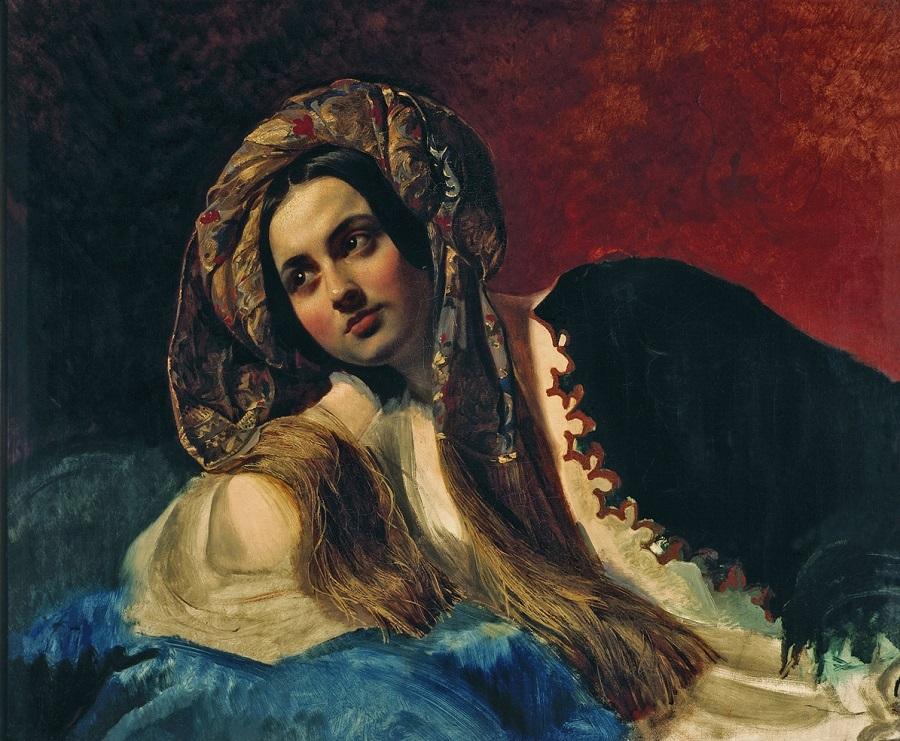 Турчанка. 1837-1839 Государственная Третьяковская галерея, Москва