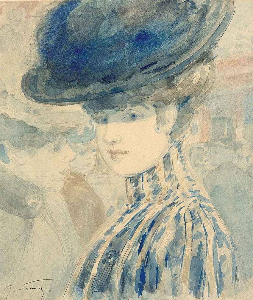 2011_PAR_01056_0184_000(henry_somm_portrait_de_femme_au_chapeau_bleu).jpg