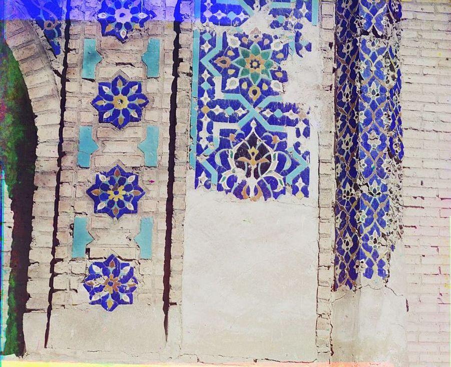 Гур-Эмир. Деталь ворот с внутренней левой стороны