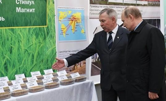 Владимир Путин назвал ключевые направления для экспорта российской продукции