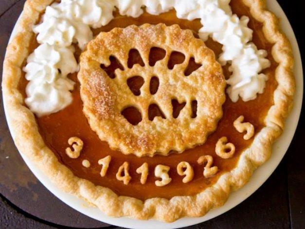 Открытки Международный день числа «Пи». Вкусняшка!