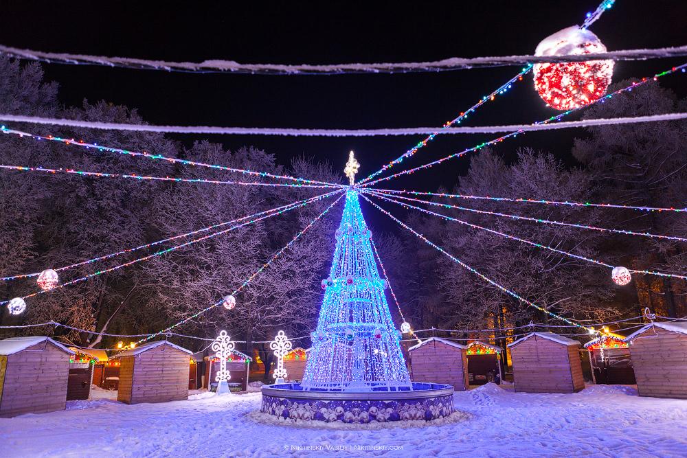 В центре Владимира смело, более, взгляд, любых, личных, фотографий, можно, города, новогодних, классический, одном, прятки, самых, древних, красивых, зданий, Успенском, соборе, ничем, знатно