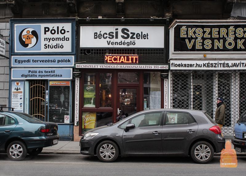 Bécsiszelet - есть ресторанов в Будапеште