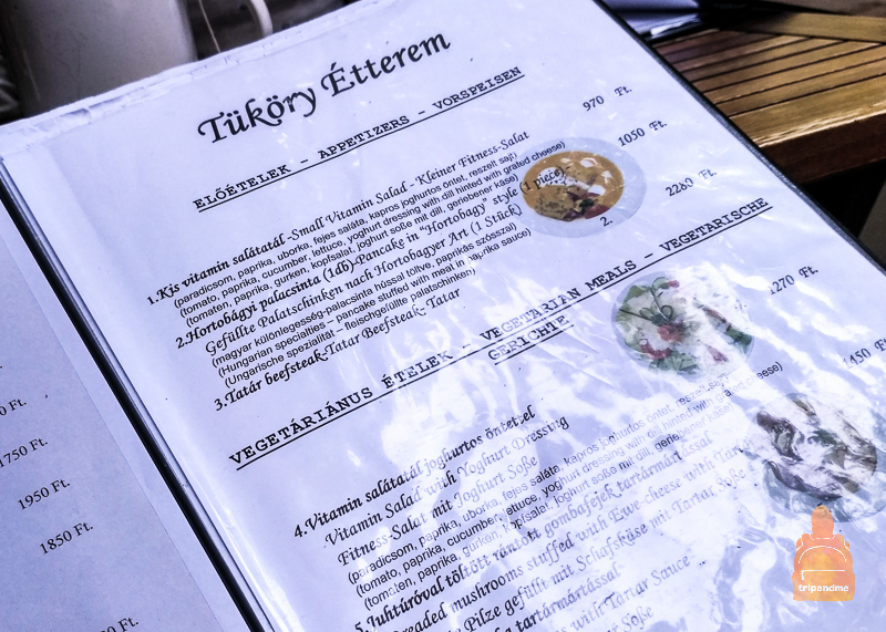 Ресторан tukory etterem Будапешт