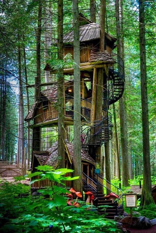 0 18019a 9bfc8168 orig - Дом на дереве - кто о нем не мечтал в детстве?