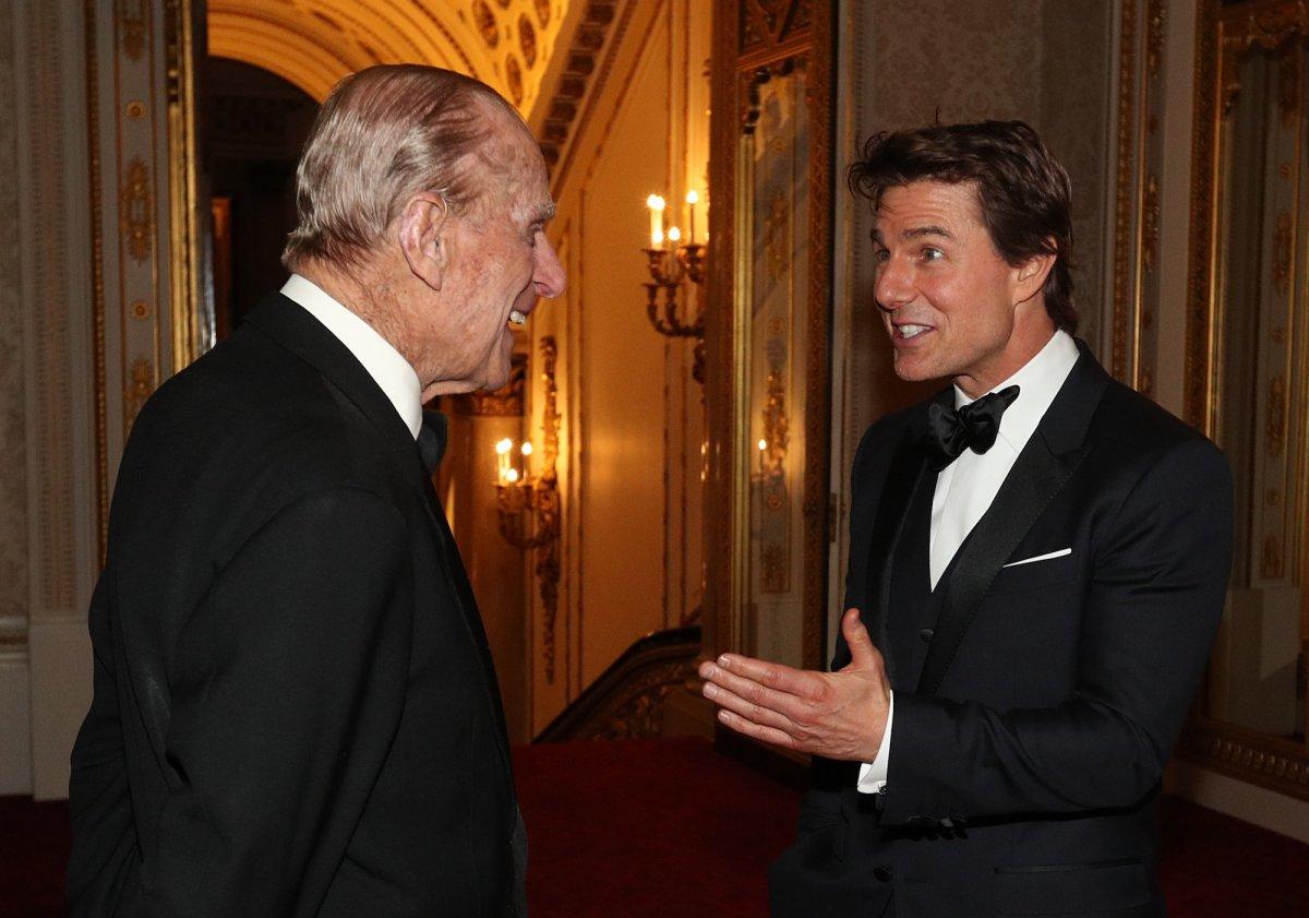 С Томом Крузом.