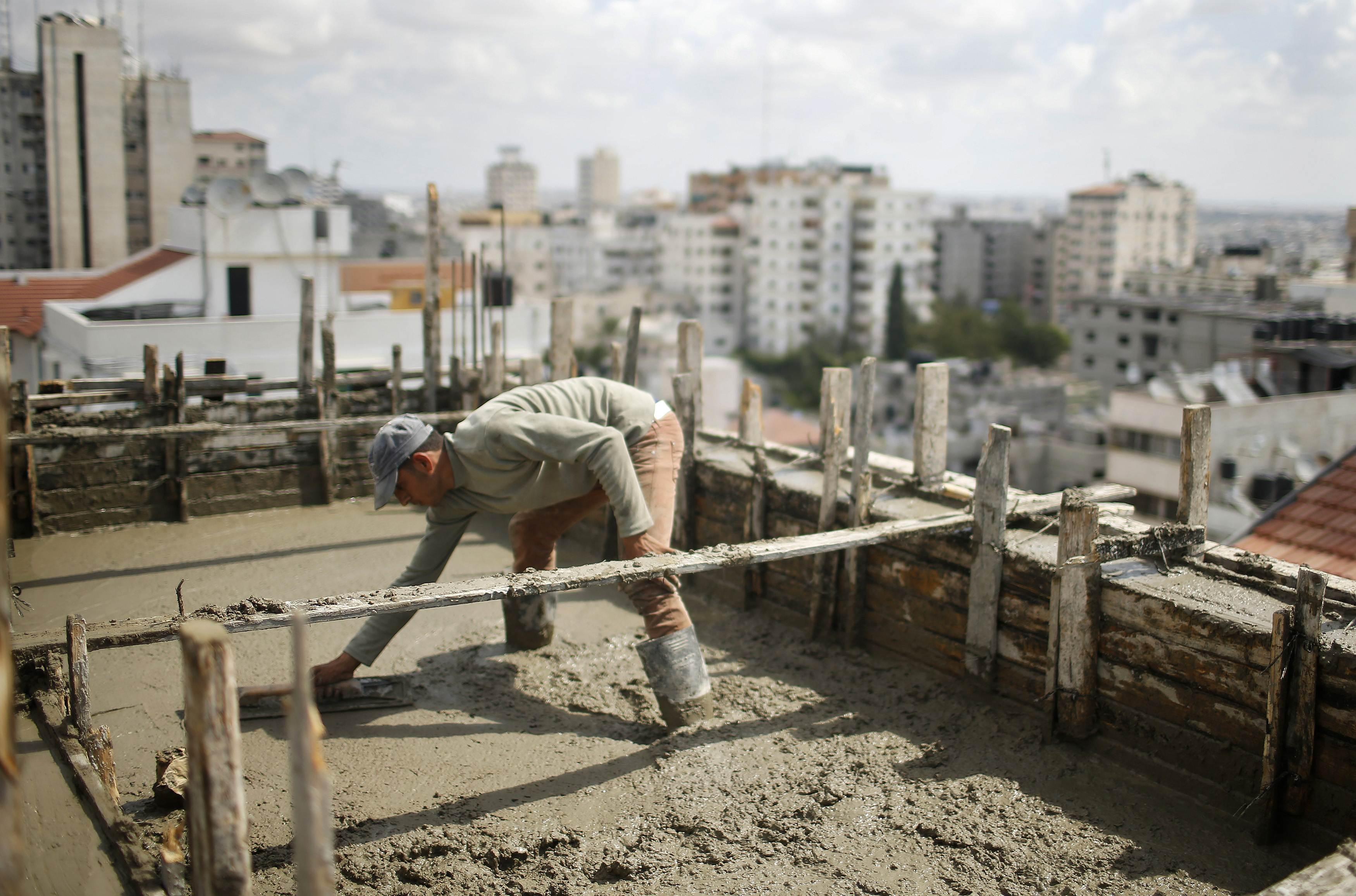 Как я с арабами на стройке в Израиле работал