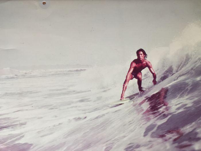 «Снимок моего папы для журнала о серфинге, Перу, 1977 год».