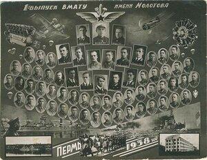 Военно-морское авиационное училище. Молотов. 1938 г.