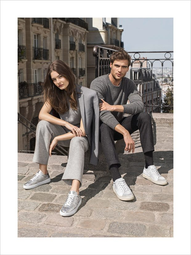 Hogan Fall Winter 2017.18 Featuring Ophelie Guillermand