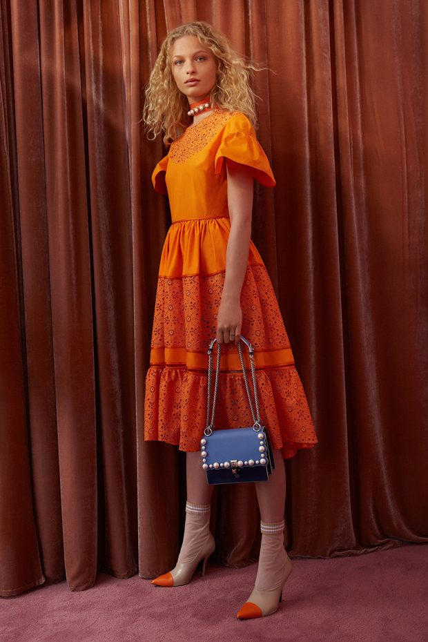 See All The Looks From FENDI's Resort 2018 Collection