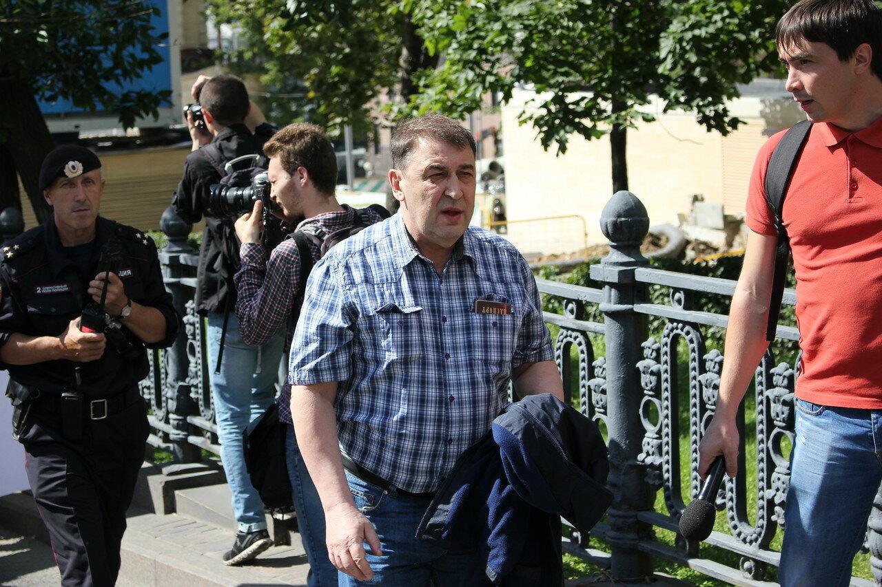 Бывший министр экономики России и лидер политической партии «Гражданская инициатива» Андрей Нечаев
