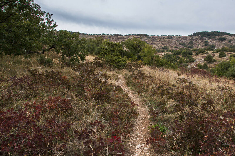 Тропа к вершине Агармыша