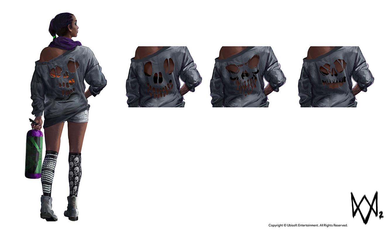Watch Dogs 2 Concept Art by Aadi Salman