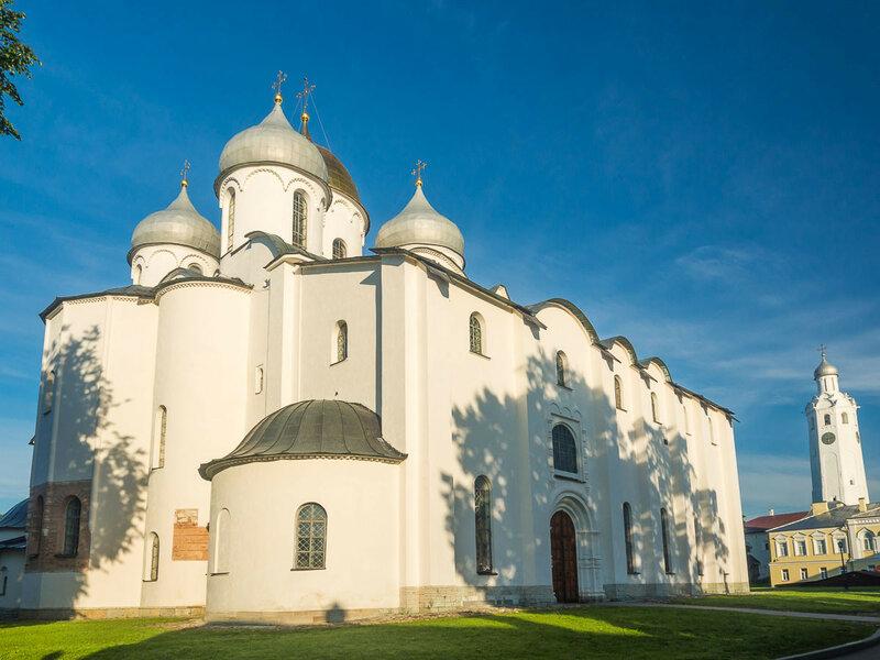 Собор Святой Софии, один из древнейших храмов России (1045—1050 гг.).
