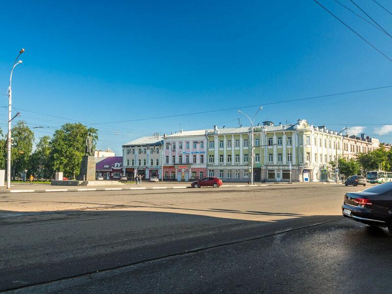 Утренняя Вологда.