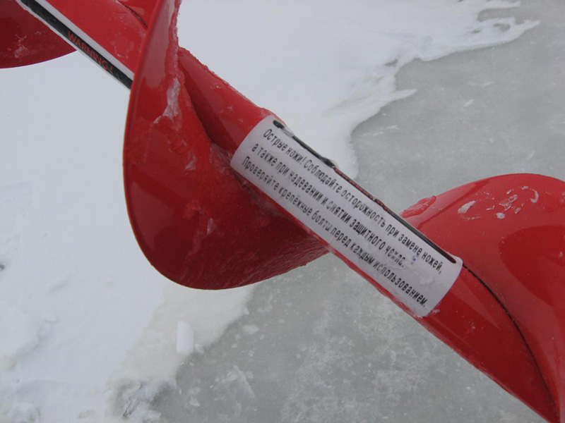 Универсальный 130 ледобур Rextor STORM