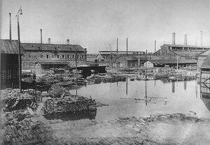 Площадь Прудка во время наводнения