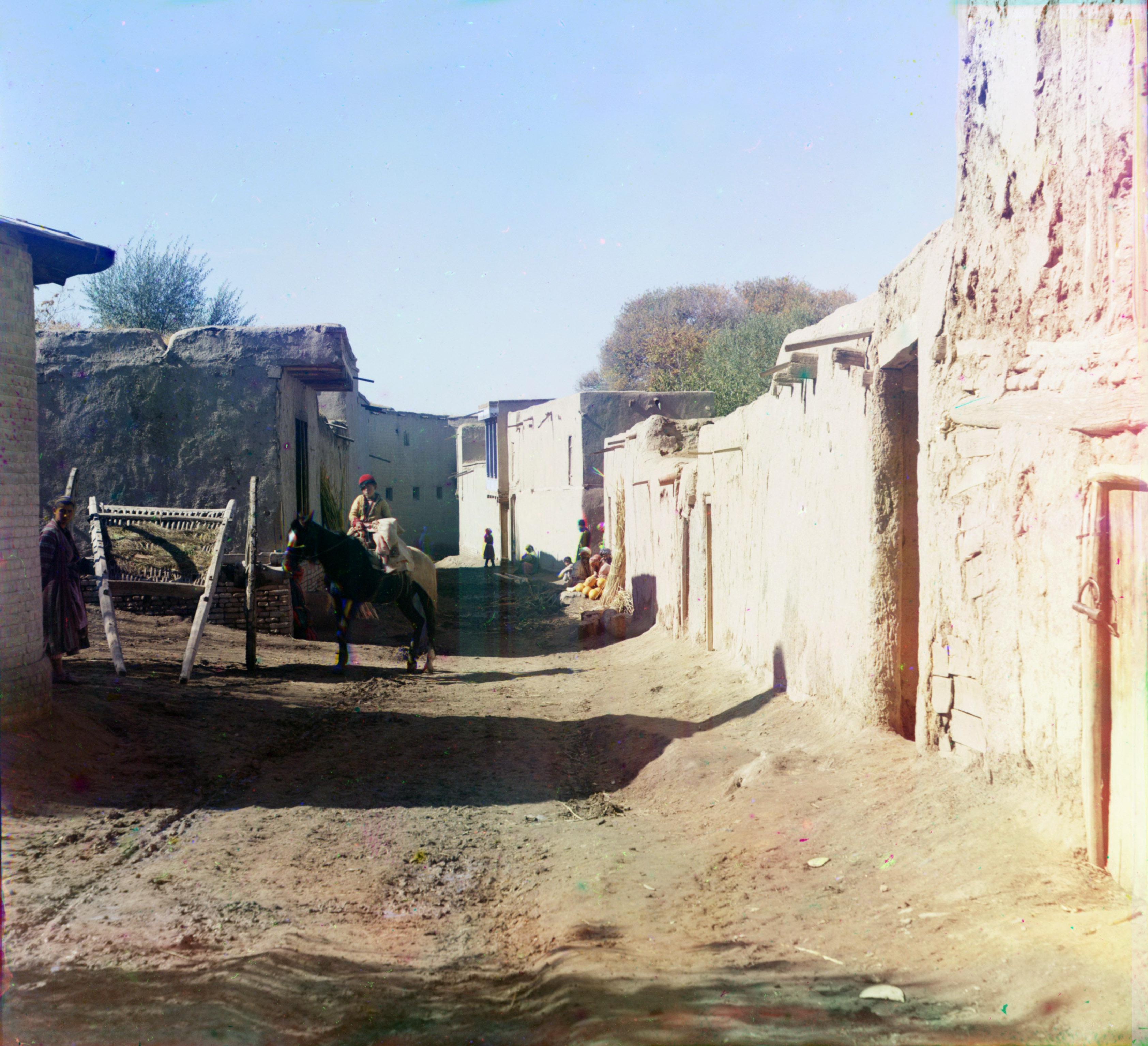 Улица в старом Самарканде