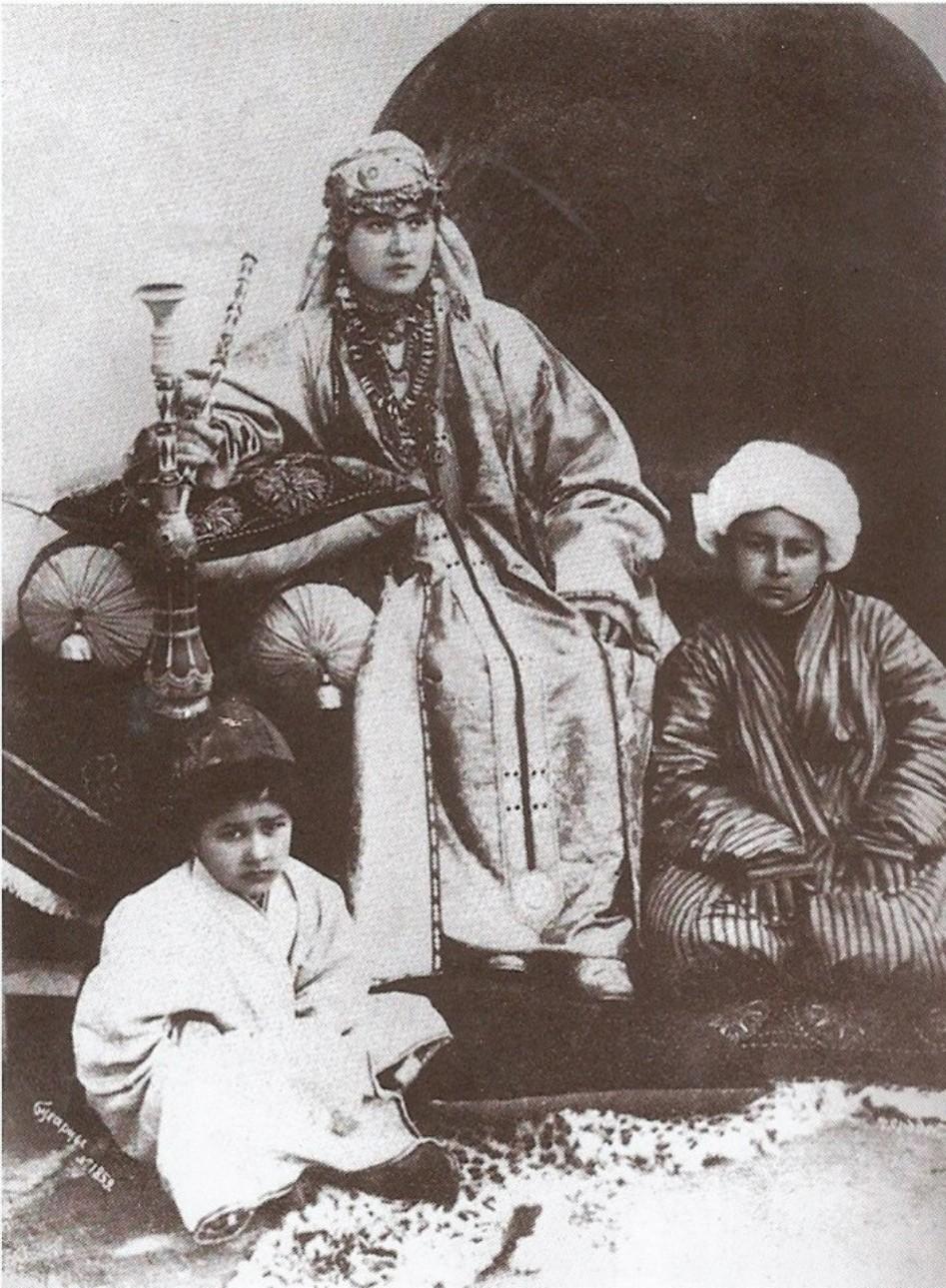 Бухарская семья. 1916