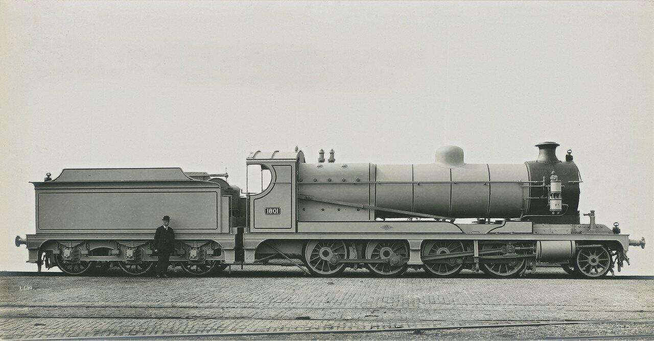 1917. Настоящая машина построена для Отдела по эксплуатации железных дорог министерства боеприпасов  (одна из 369)
