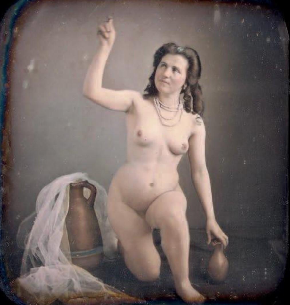 1854-1855. Преклоненная обнаженная