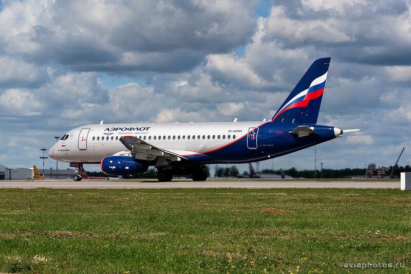 Sukhoi Superjet 100-95B (RA-89064) Аэрофлот 0195_D703434