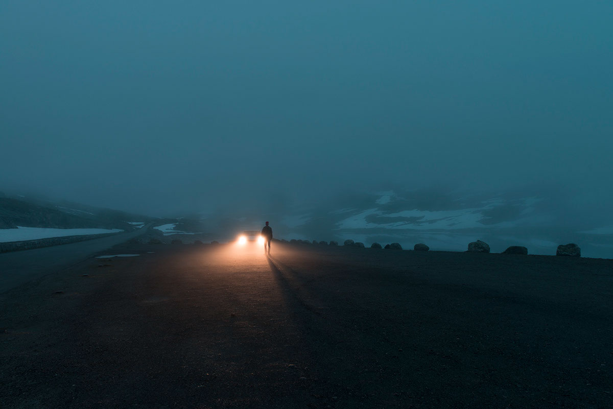 Зима близко: атмосферные снимки Øystein Aspelund, от которых веет холодом