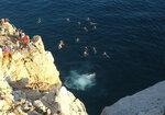 Прыжок в морскую бездну