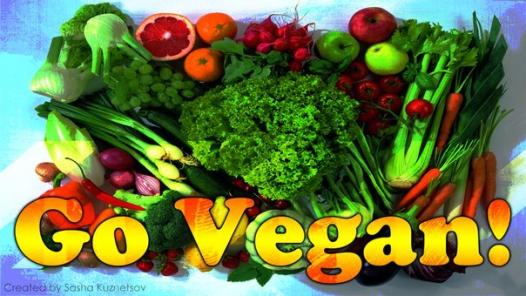 День вегана.  Овощи