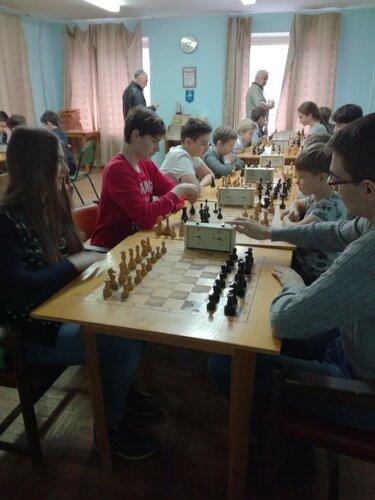 Отборочные соревнования по шашкам и шахматам